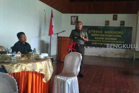 Dandim Rejang Lebong: Anggota TNI tidak netral laporkan