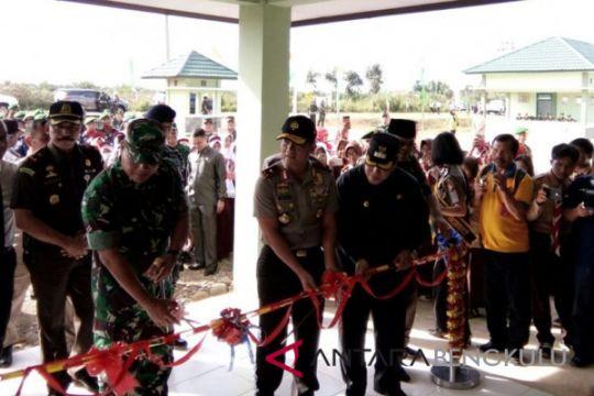 Pangdam II Sriwijaya resmikan Makodim 0428 Mukomuko