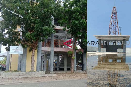 Shelter tsunami di Bengkulu terbengkalai