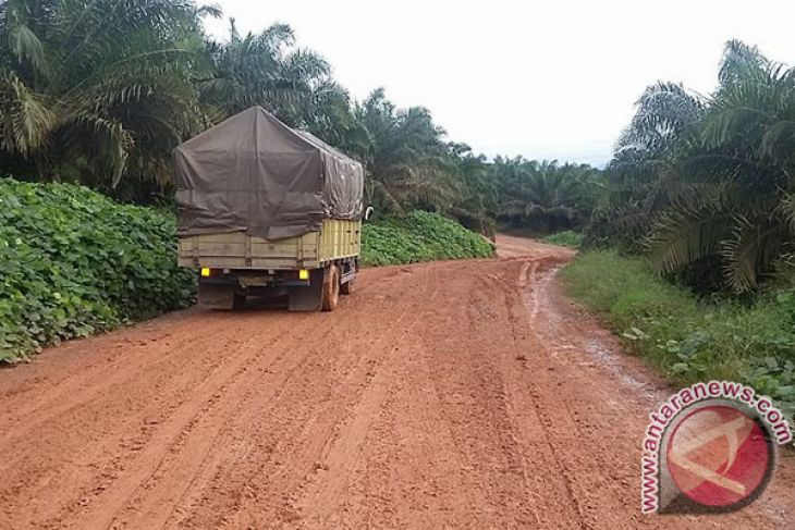 Distan targetkan pembangunan jalan perkebunan tuntas Desember