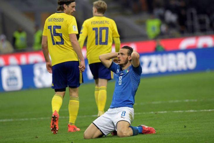 Kasihan, Pertama Kalinya, Italia Gagal Lolos Piala Dunia