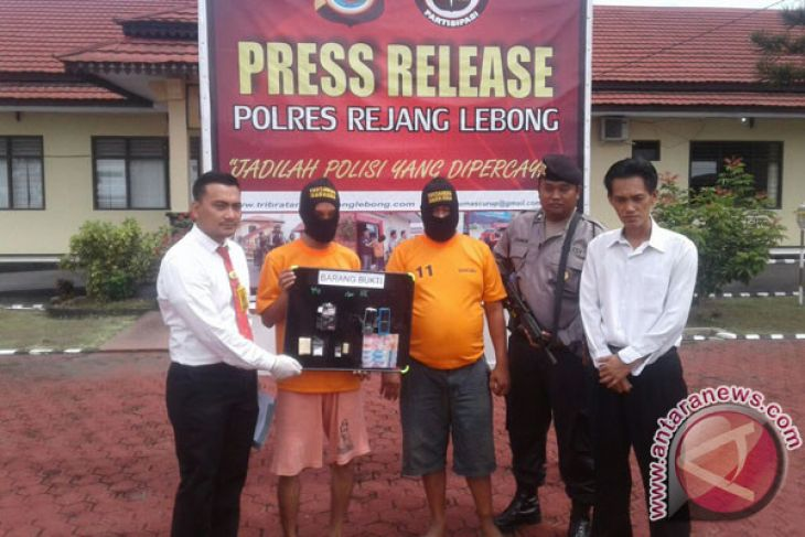 Polisi Rejang Lebong tangkap dua pengguna narkoba