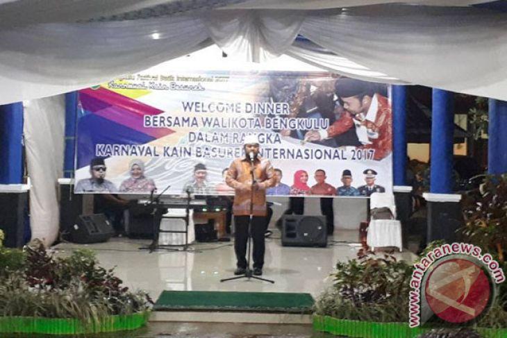 Karnaval Batik Besurek Dihadiri Dubes Negara Sahabat