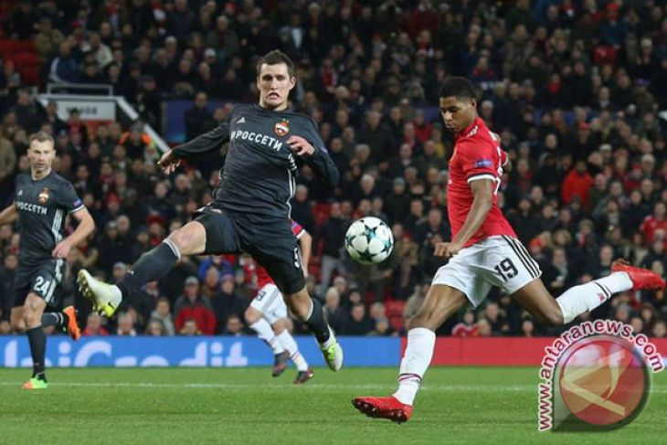 United Maju 16 Besar Liga Champions Sebagai Juara Grup