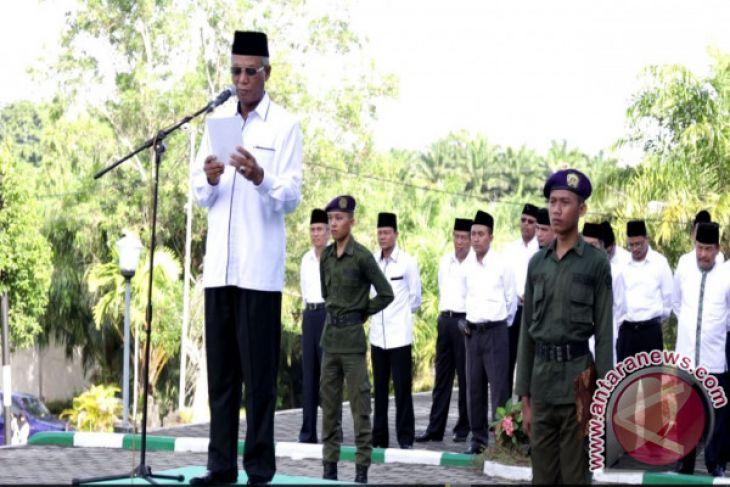 Upacara Hari Amal Bhakti di IAIN Bengkulu