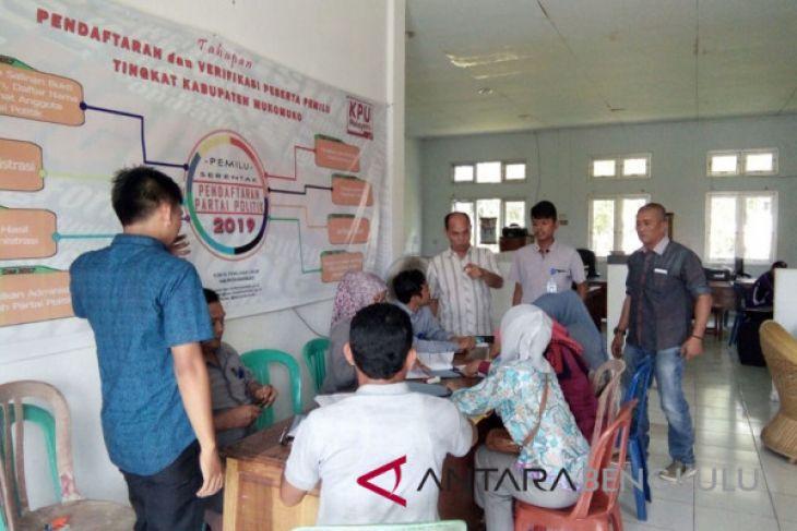 KPU Bengkulu rampungkan daftar pemilih tingkat kecamatan