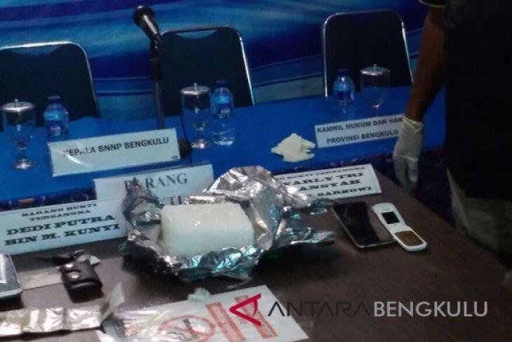 BNN Bengkulu menggagalkan penyelundupan dua Kg sabu-sabu