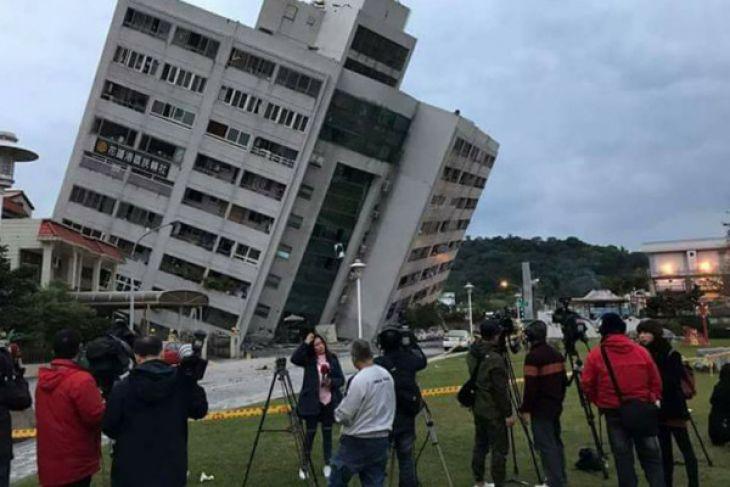 Jumlah korban tewas gempa Taiwan bertambah