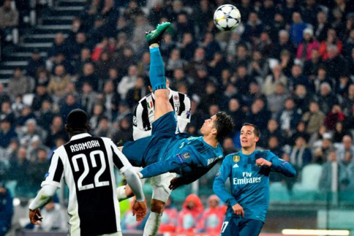 Resmi ! Ronaldo hengkang ke Juventus