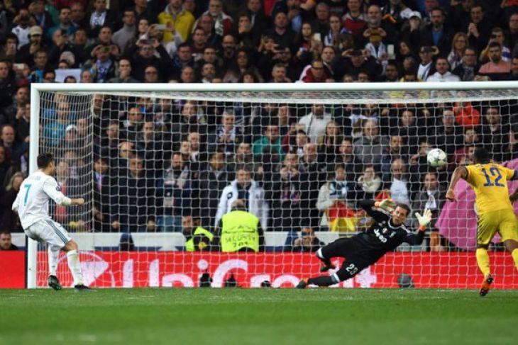 Gol menit akhir Ronaldo antar Real ke semifinal Liga Champions