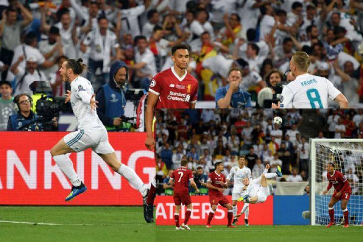 Bale hancurkan Liverpool untuk menjuarai Liga Champions