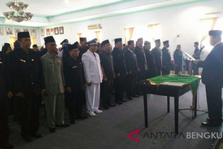 Wah, 149 pejabat Pemkab Rejang Lebong jadi staf
