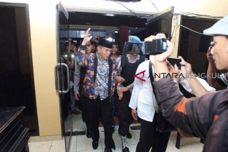 Empat orang OTT Bengkulu Selatan diperiksa KPK