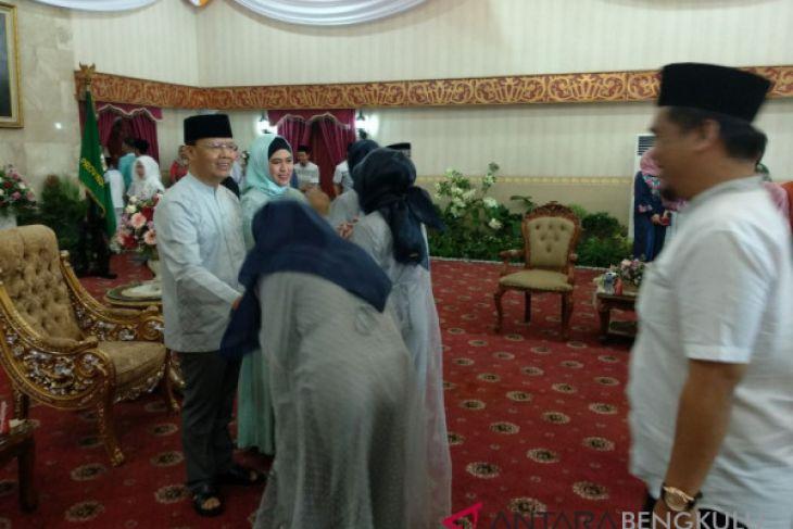 Gubernur Bengkulu halalbihalal di Balai Semarak
