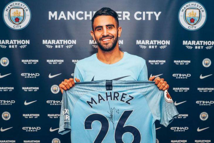 Mahrez bergabung ke Manchester City