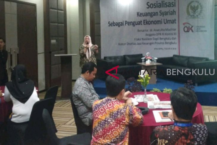 OJK Bengkulu terus genjot pasar ekonomi syariah