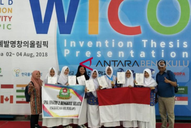 Pelajar Bengkulu Selatan juarai lomba inovasi internasional