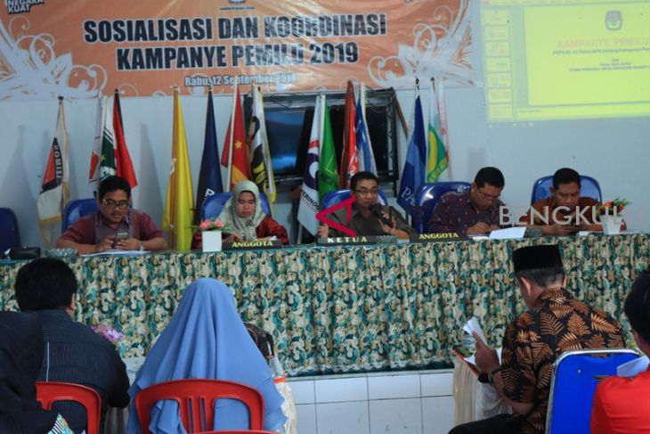 DPT pemilu Rejang Lebong 199.213 orang
