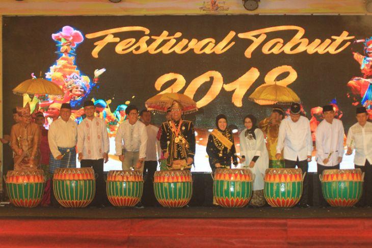 Gubernur Bengkulu buka Festival Tabut 2018