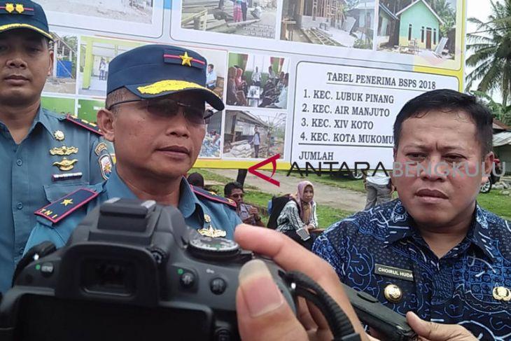Pemkab Mukomuko dan Lantamal II Padang kerjasama sukseskan program BSPS