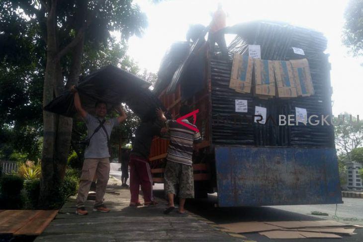 KPU Rejang Lebong manfaatkan logistik lama