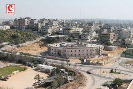 Hujan rudal dan serangan udara di Gaza mereda