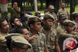 Satpol-PP dan DLH Pemkab Bogor siaga di venue Asian Games