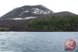 Waspada, Aktivitas vulkanik gunung Anak Krakatau tinggi