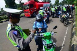 Polresta Bogor jaring 370 pelanggar lalu lintas