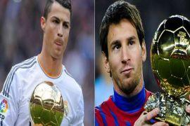 Cristiano Ronaldo Mengungguli Lionel Messi