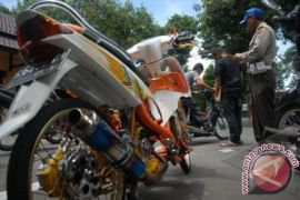 Awas!..Motor Knalpot Bising Di Karawang Kena Tilang