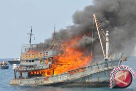 Karena Mencuri Ikan, 327 Kapal Asing Ditenggelamkan