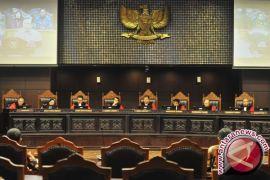 MK lanjutkan sidang uji aturan dana kampanye