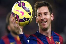 Messi kembali berlatih dengan Tim Barcelona