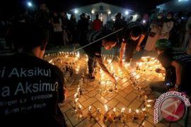 Bogor gelap kampanye hemat energi jam bumi