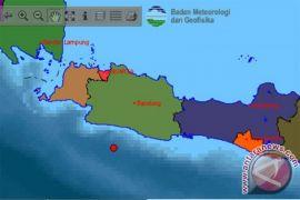 Belum ada laporan kerusakan pascagempa di Sukabumi