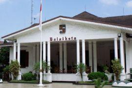Opor ayam menu utama `simakrama`di Bogor