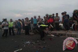 Indra tewas dalam kecelakaan di Sukabumi