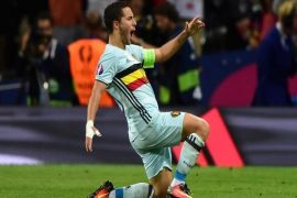 Belgia 4-0 Skotlandia di pertandingan persahabatan