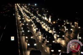 646.000 kendaraan lintasi Tol Jakarta-Cikampek