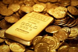 Harga emas berbalik menguat, Tapi masih sedikit