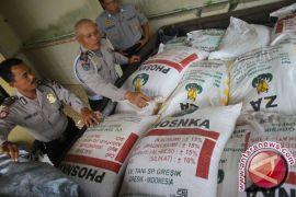 Pabrik pupuk ilegal di Sukabumi digerebek polisi