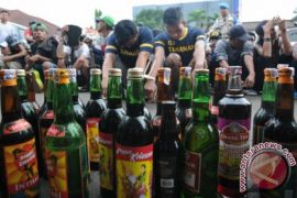 Polres Bekasi razia miras sambut Ramadhan