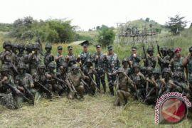 Dankormar Tinjau Latihan Tempur Marinir Di Sukabumi