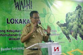 Provinsi Lampung Berhasil Mengurangi Kerusakan Hutan