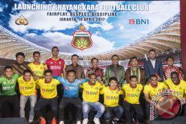 Bhayangkara FC Pawai Kemenangan Liga 1 Di Surabaya