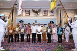 Gubernur Lampung Melepas 332 PNS Yang Memasuki Purna Bakti