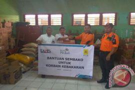 PLN Bogor Salurkan Bantuan Untuk Pengungsi Kebakaran