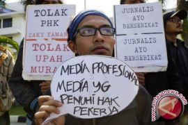 Upah Jurnalis Masih Rendah