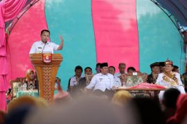 Masyarakat pedalaman Suoh Lampung miliki jalan mulus setelah 70   tahun